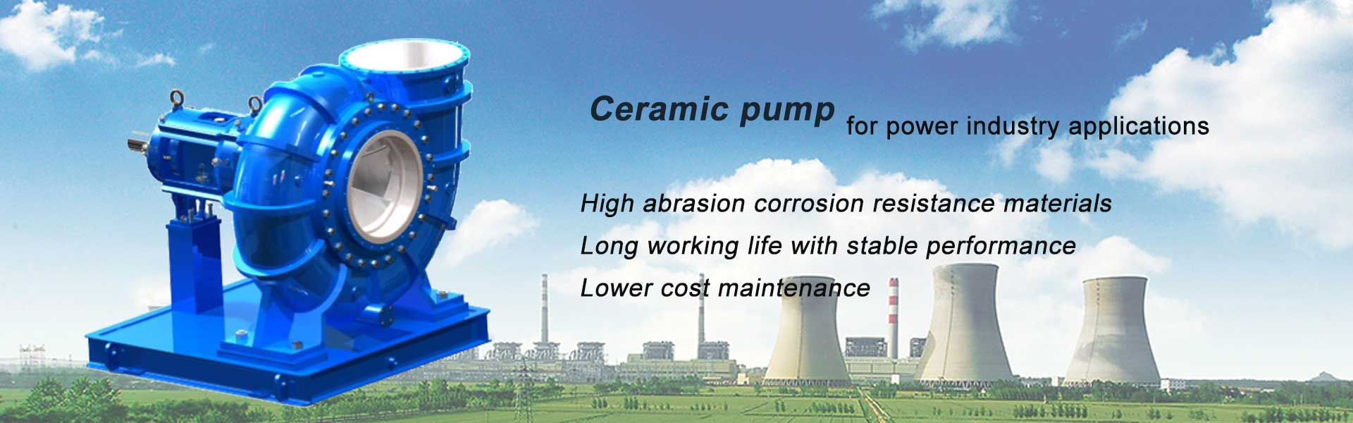 ceamic pump